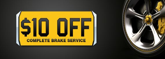 $10 off Brake Service Coupon in Uniontown OH